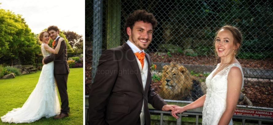 007 wedding photographers bristol zoo
