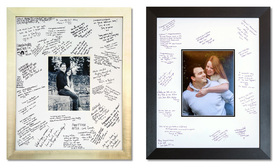 Signing Frame by Stewart Clarke Photography