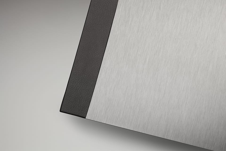 Brushed Aluminium Cover
