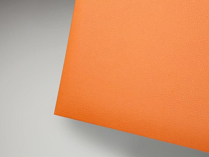 leatherette-tangerine
