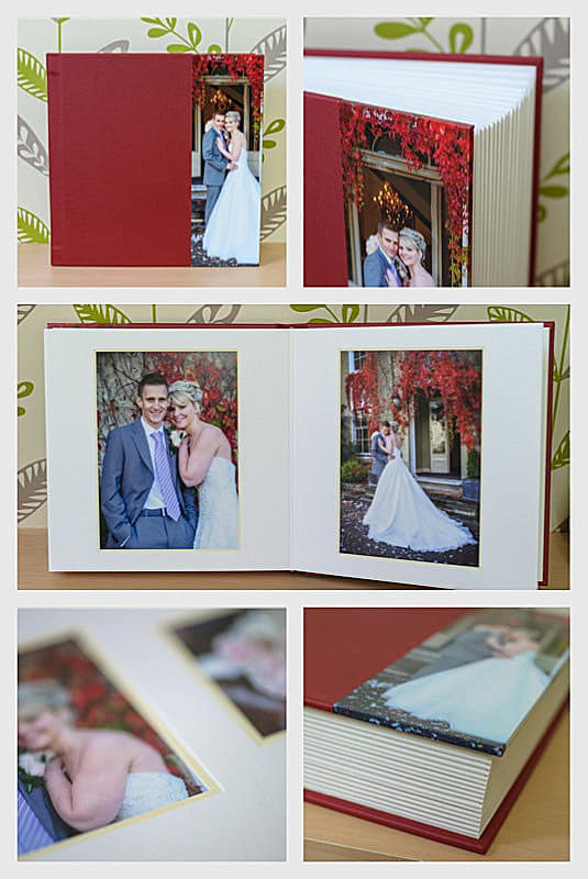 Jorgensen Art Matted wedding album