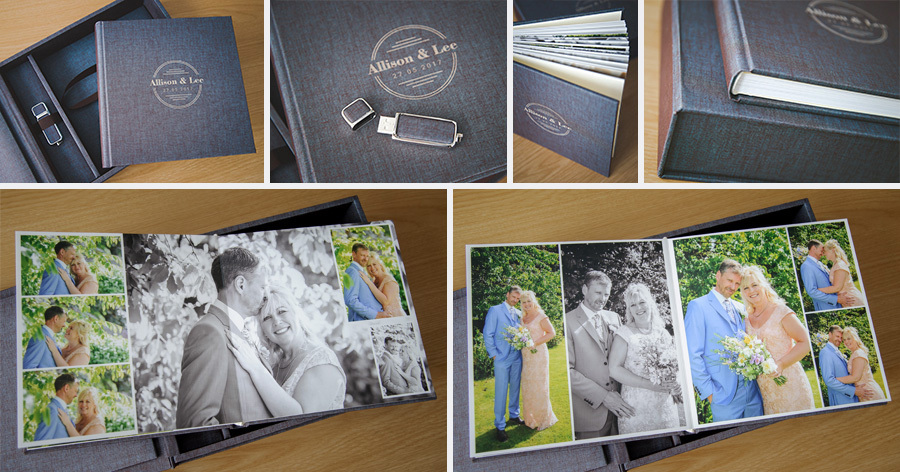 Wedding Photography Album Box Set