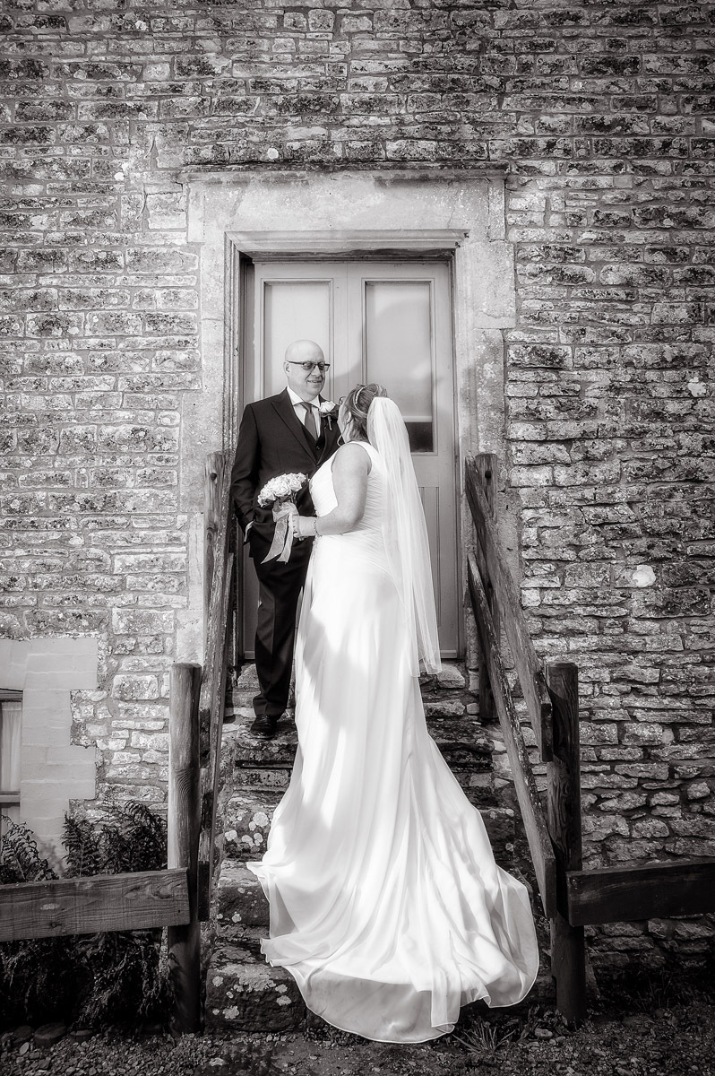 Folly Farm Winter Wedding Photography
