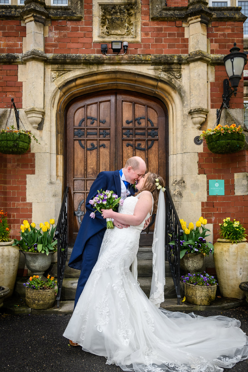 Wedding Photography at Berwick Lodge