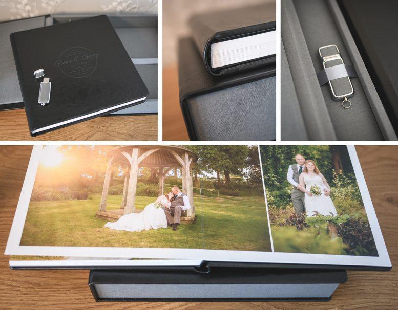 Wedding Album Box Set Stewart Clarke Photography