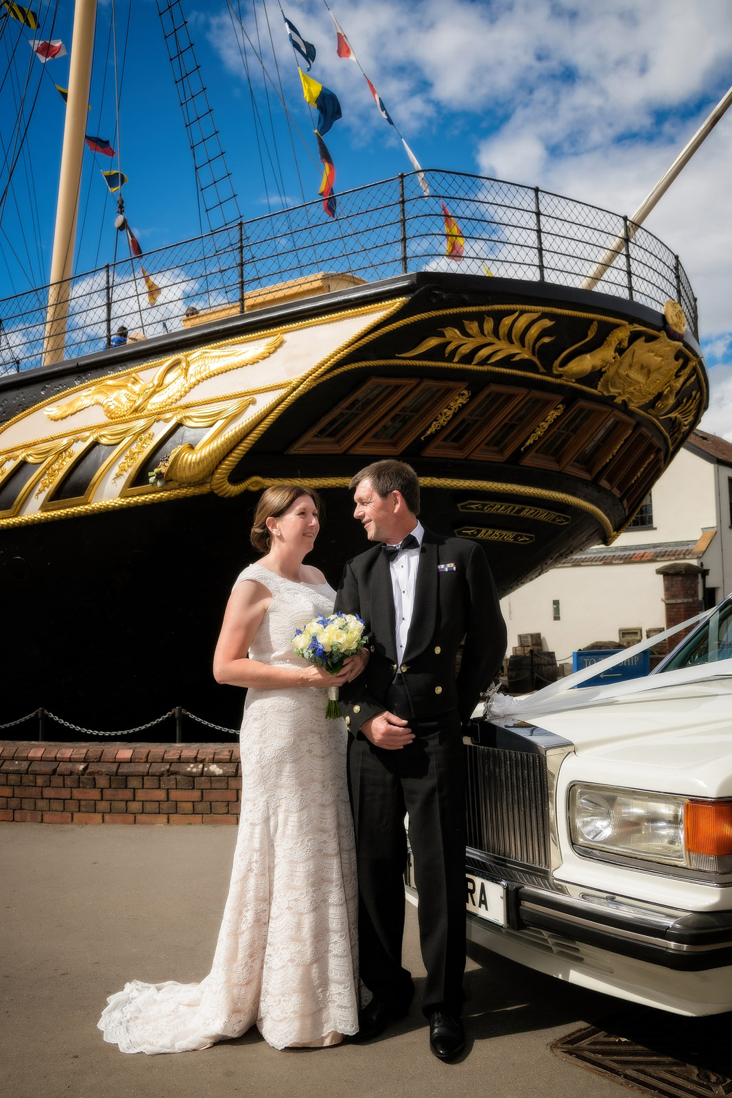 Wedding Photographer Bristol | SS Great Britain
