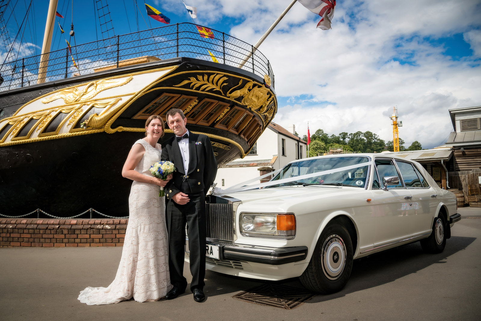 Wedding Photographer Bristol SS Great Britain
