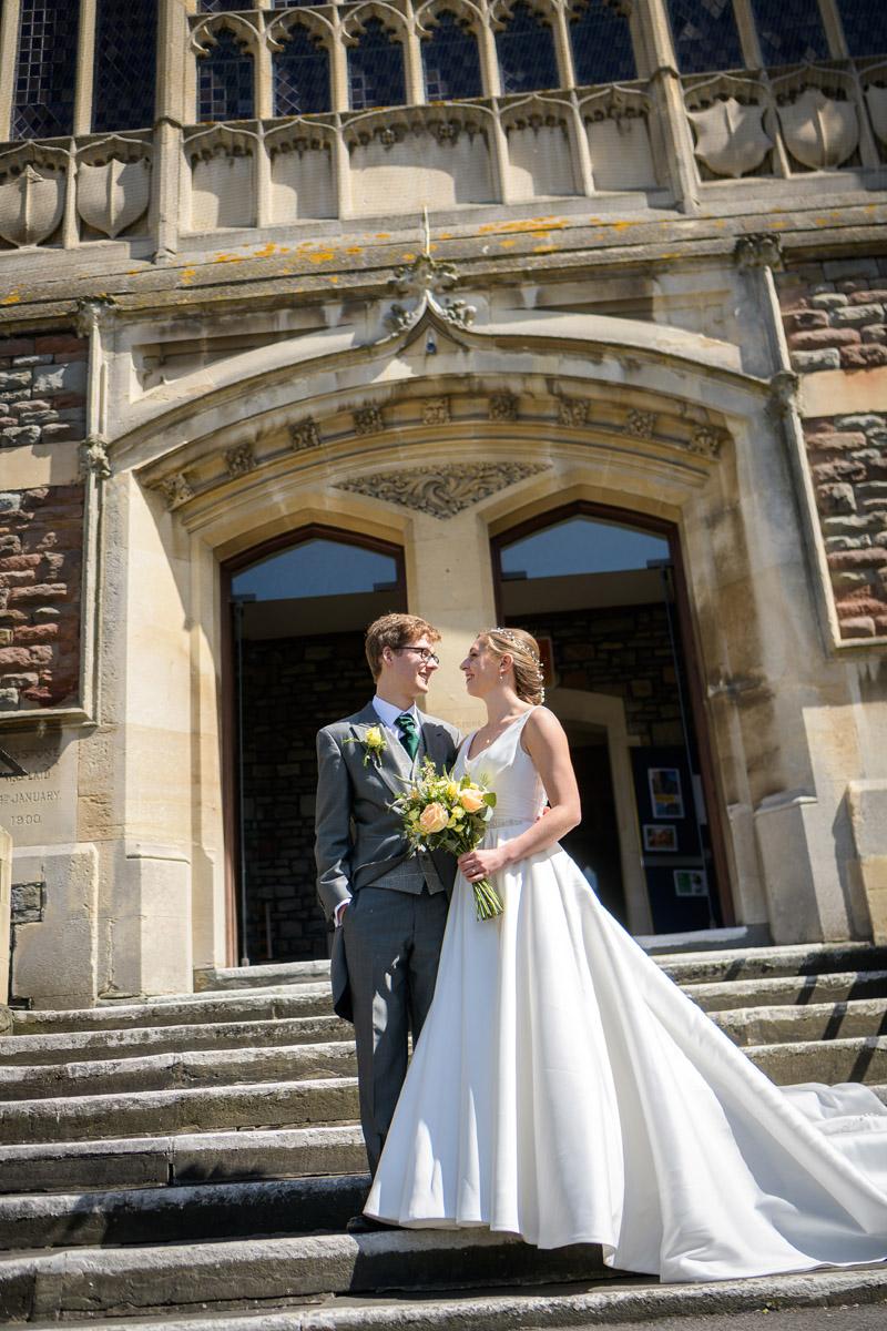 Wedding Photographer Bristol Horfield Baptist Church