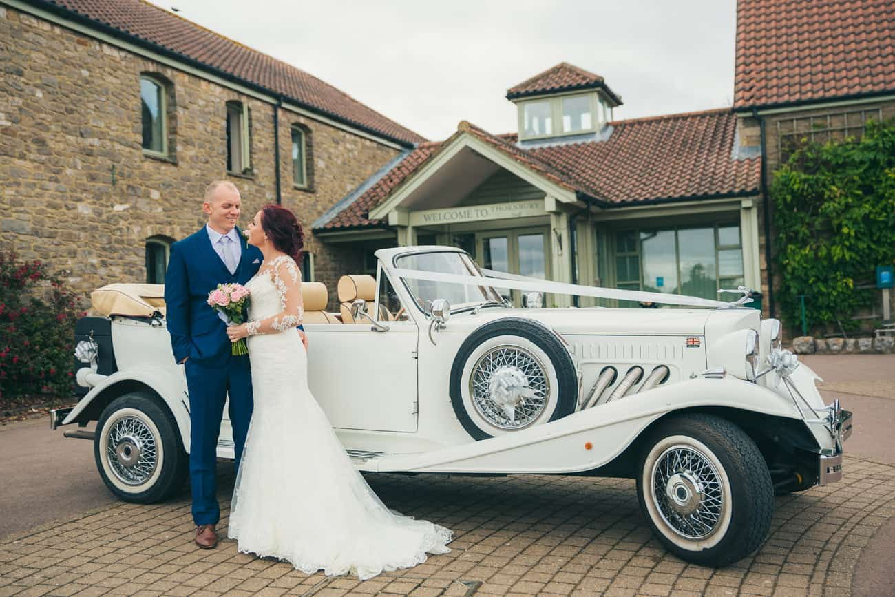 Wedding Photographer at Thornbury Golf Club