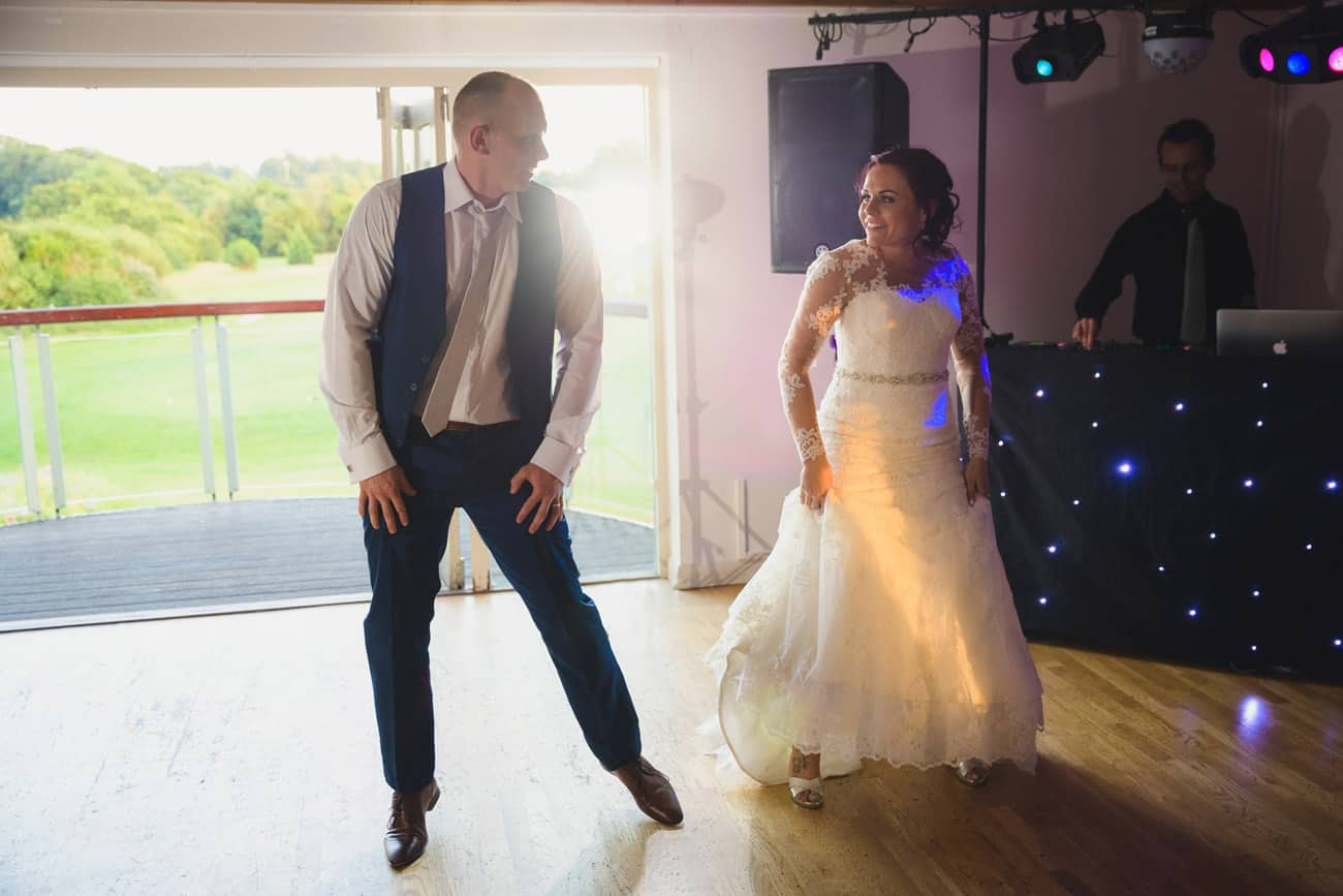 Wedding Photography at Thornbury Golf Club