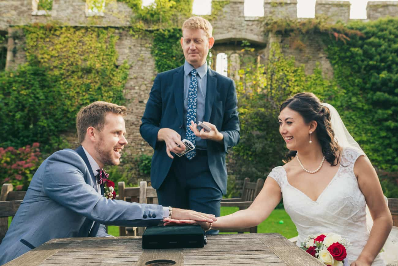 Wedding Photography Magician Damian Surr